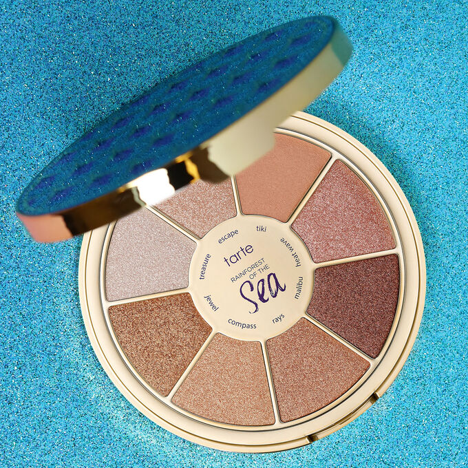 limited-edition Rainforest of the Sea ™ highlighting eyeshadow palette vol. III