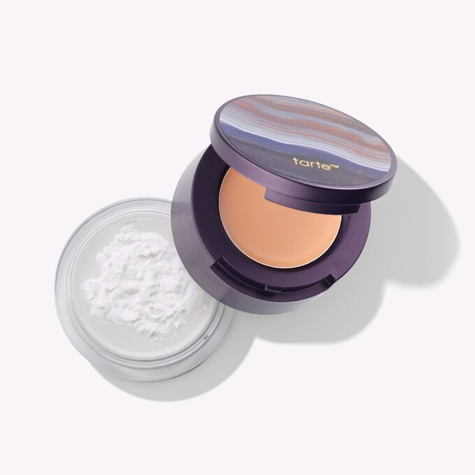 colored clay concealer finishing powder