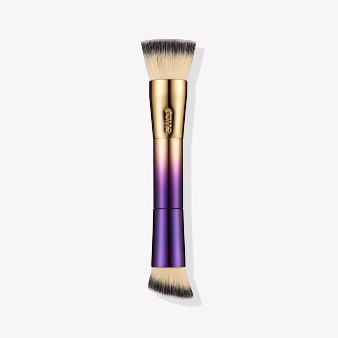 double-ended foundation brush