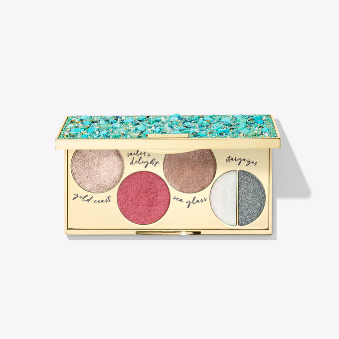 Rainforest of the Sea™ foil finger paints shadow palette