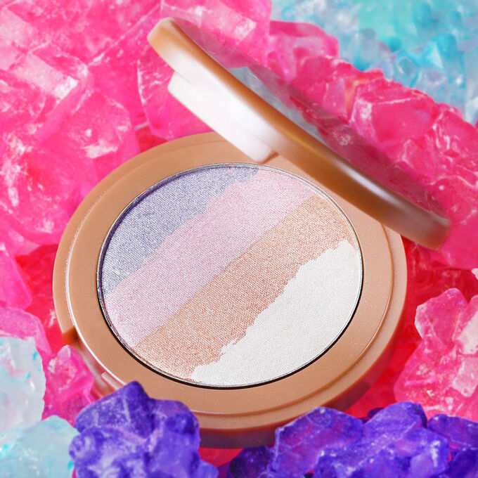 limited-edition spellbound glow rainbow highlighter