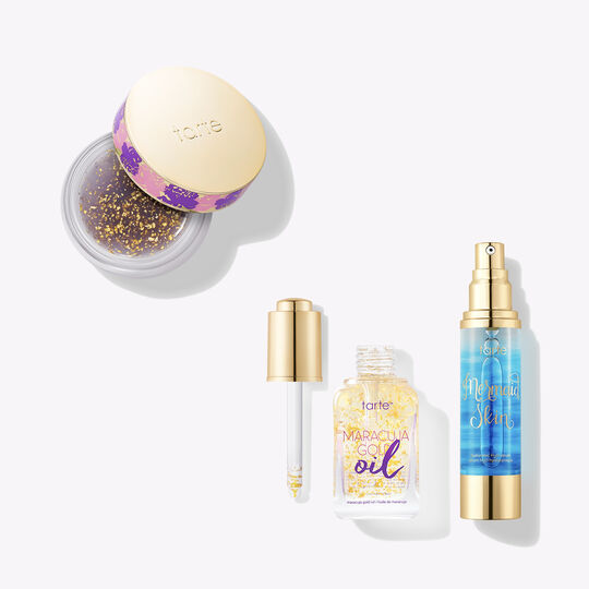 It's About To Glow Down Skincare Set by Tarte
