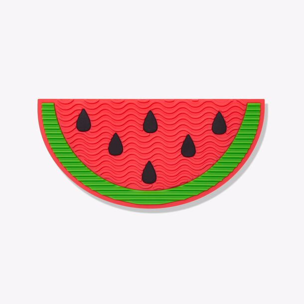 sugar rush™ brush bestie brush cleansing mat watermelon
