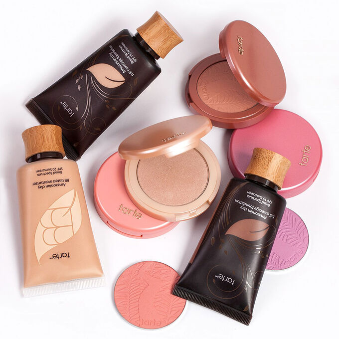 amazonian clay product collection blush foundation