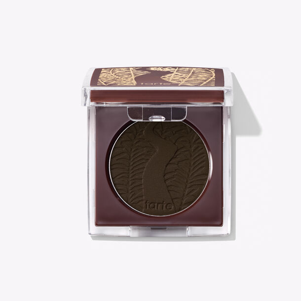 Fill In Sparse Eyebrows With Black Brown Powder, with Packaging