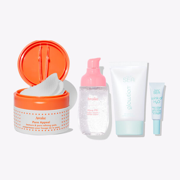 glow on skincare bundle