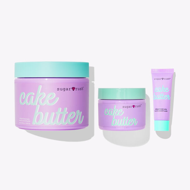triple whipped cake butter trio