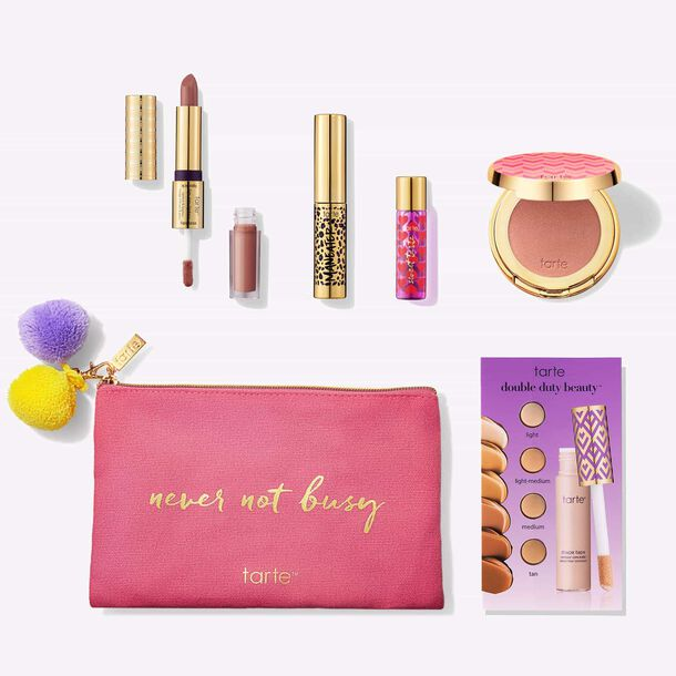busy girl beauty intro set