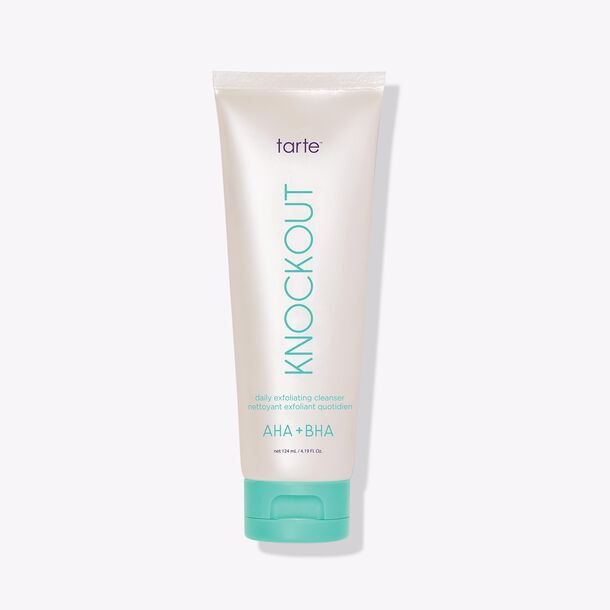 knockout daily exfoliating cleanser
