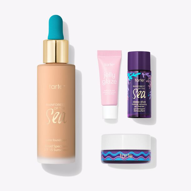 SEA custom water foundation SPF 15 value set
