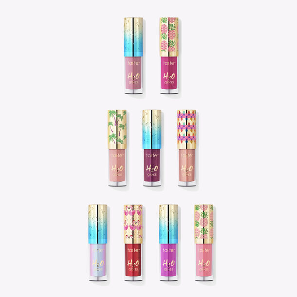 high tides & good vibes deluxe H2O gloss set