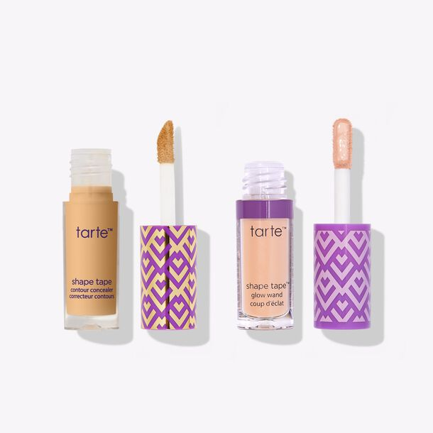 shape tape™ star squad concealer & brighten duo