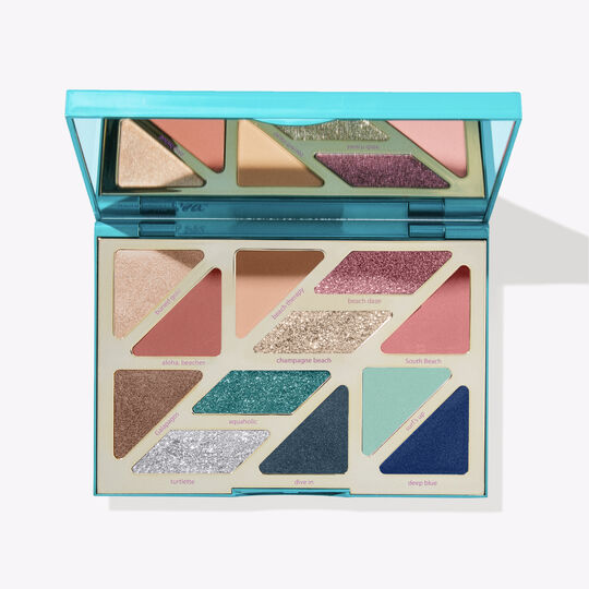 Rainforest of the Sea™ high tides & good vibes eyeshadow palette