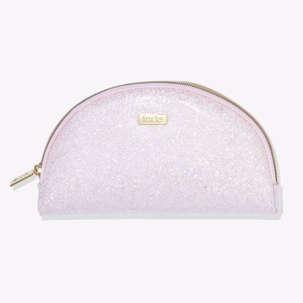 rise & sparkle makeup bag