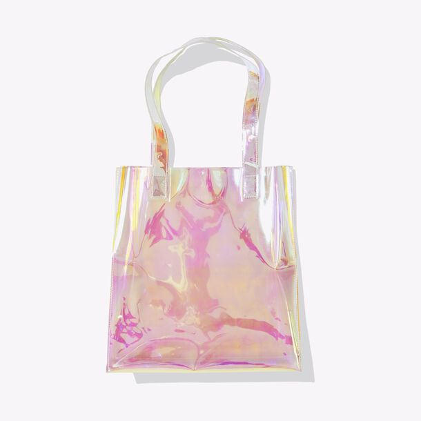 sugar rush™ holographic tote bag