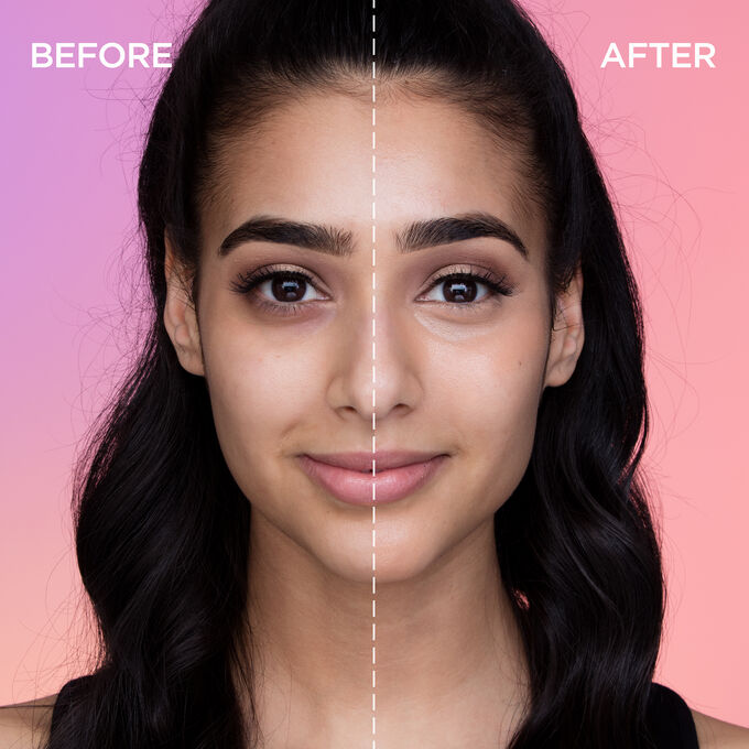 Image result for before and after applying of concealer