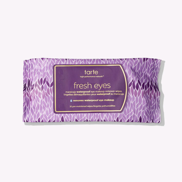 fresh eyes maracuja waterproof eye makeup remover wipes