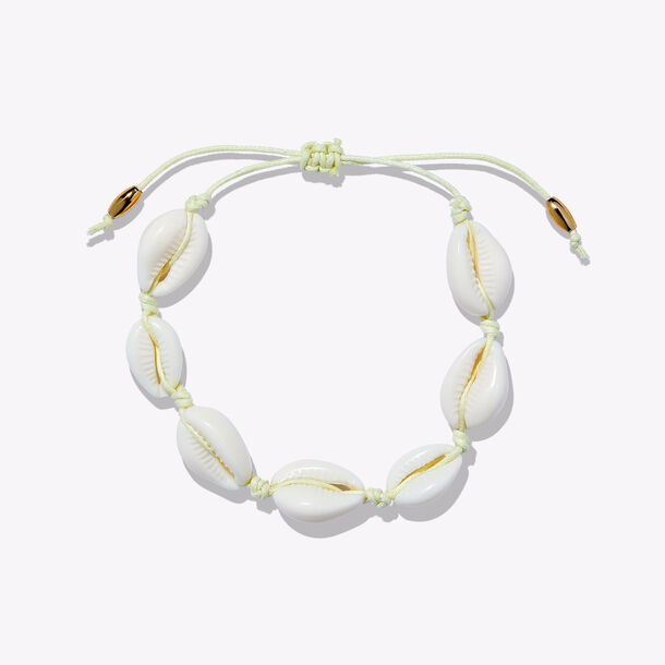 sugar rush™ shell yeah vegan puka shell bracelet