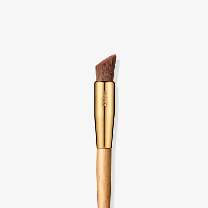 frame worker double ended brow powder brush tarte cosmetics