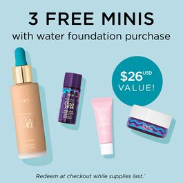 SEA custom water foundation value set