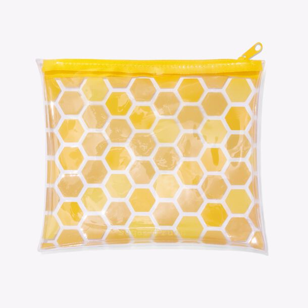 sugar rush™ bee the change makeup bag