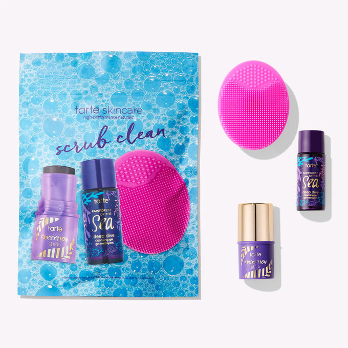 limited-edition scrub clean cleansing set limited-edition scrub clean cleansing set
