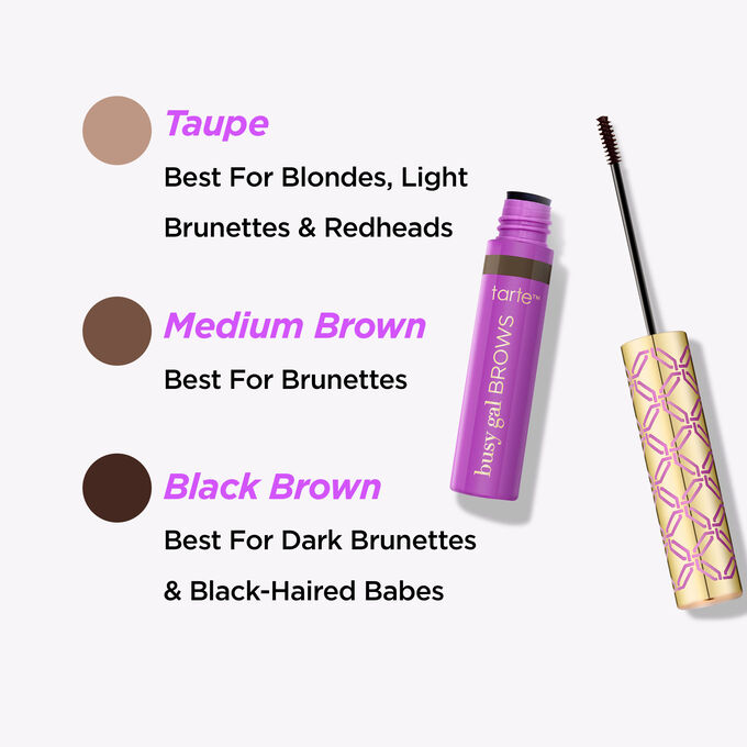Busy Gal BROWS Tinted Brow Gel by Tarte #19