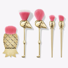 let's flamingle brush set