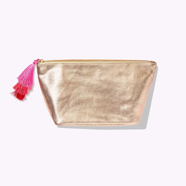 gold with tassle bag