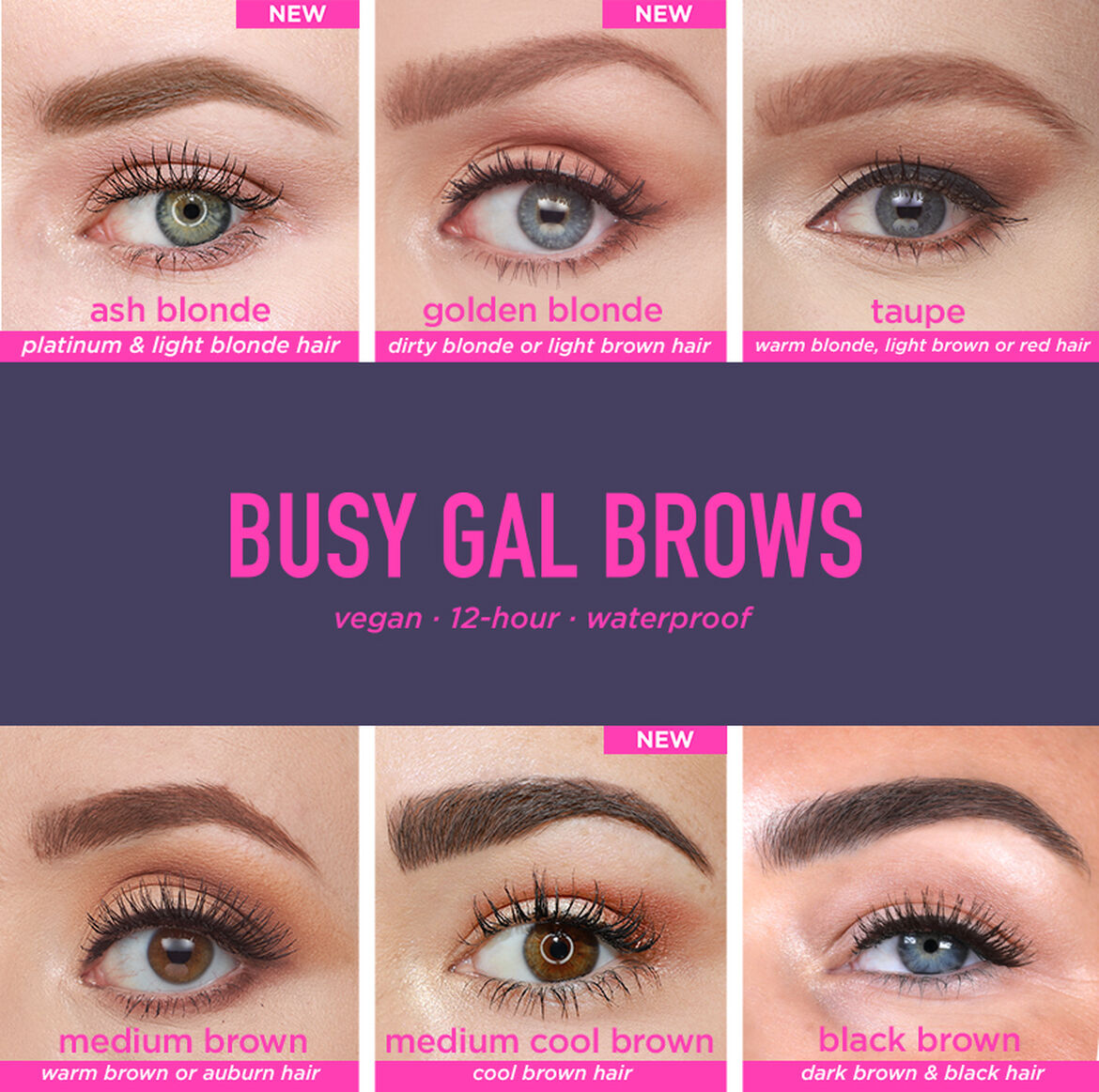 Busy Gal BROWS Tinted Brow Gel by Tarte #5