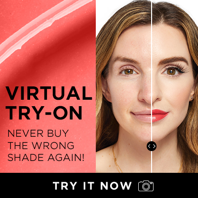 virtual try on, never buy the wrong shade again - try it now