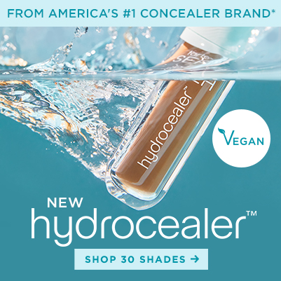 new hydrocealer concealer. shop 30 shades - grid slot