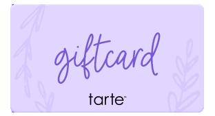 Tarte gift cards