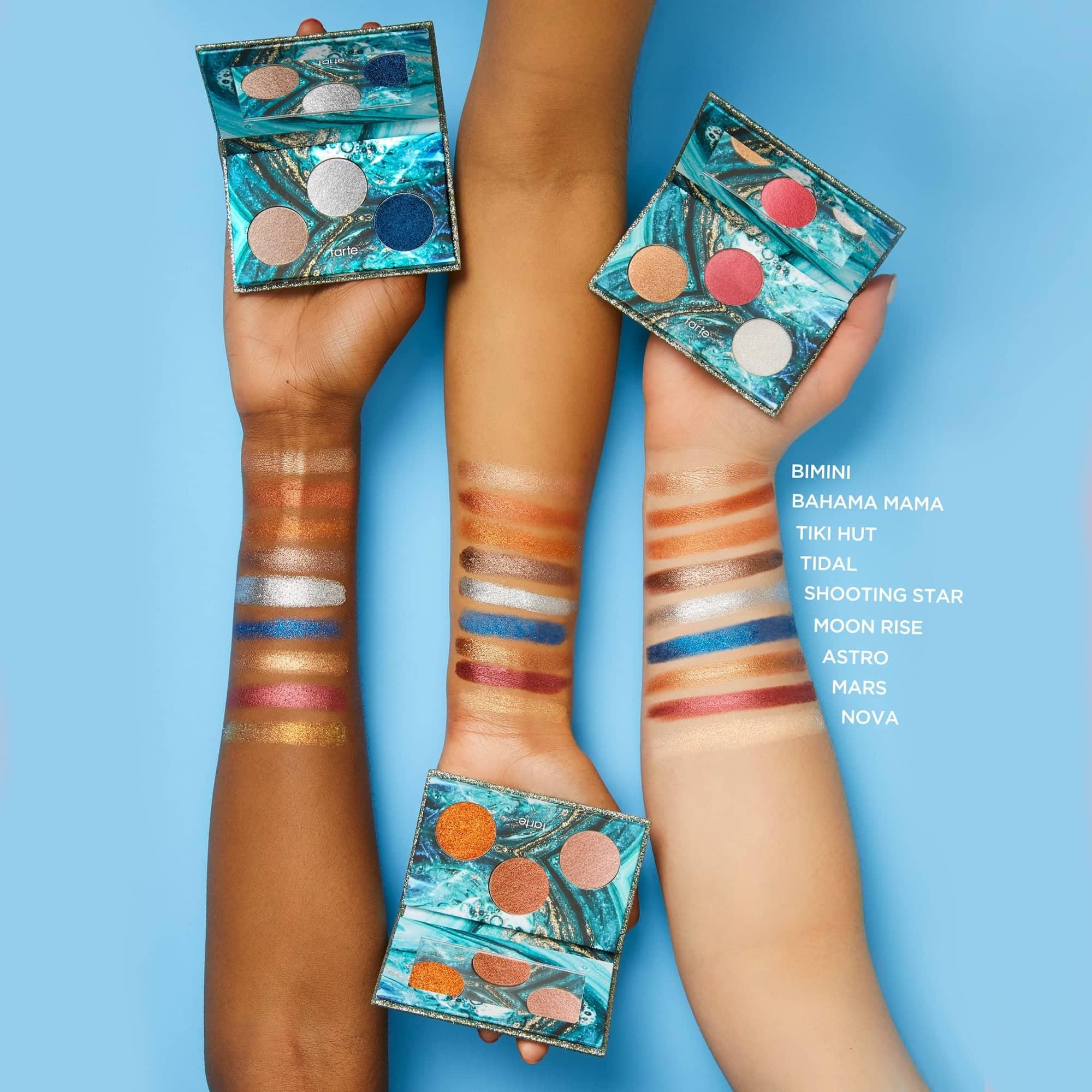 Rainforest Of The Sea Foil Finger Paints Shadow Palette by Tarte #21