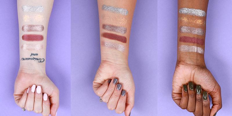 Rainforest Of The Sea Foil Finger Paints Shadow Palette by Tarte #3